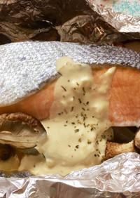 鮭の簡単!ホイル焼き