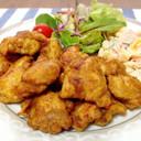 お弁当に♬簡単♡鶏のから揚げ*カレー味