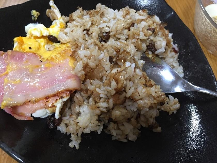 干し納豆の簡単チャーハン