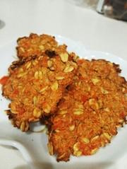 にんじんとオートミールのクッキー♡の写真