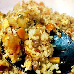 お鍋一つで玄米と牛肉の生姜ご飯