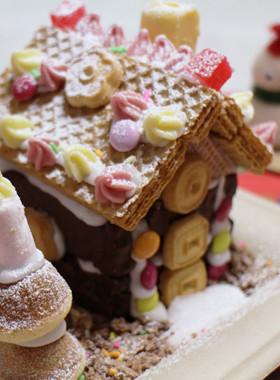 子どもと作ろう!お菓子の家