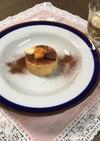 マスカルポーネ入り柿のムース