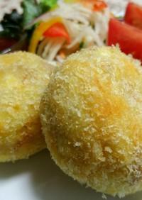 ツナと卵のポテトコロッケ