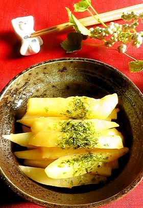 レンジで簡単♪味噌バターポテト☆