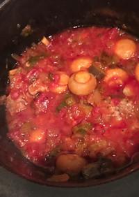 本格/豚かたまり肉土鍋煮込み