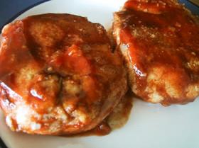 豆腐とおからとツナのハンバーグ