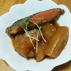 大根と鮭の甘辛うま煮
