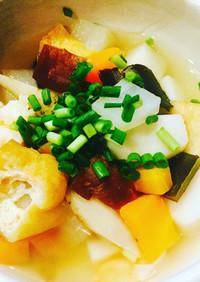 新潟のっぺ汁風なお出汁が美味しい煮物