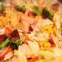 塩鮭で♡ちゃんちゃん焼き風