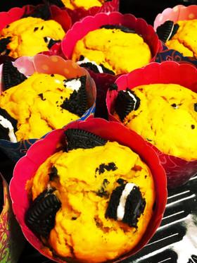 オレオとかぼちゃのマフィン♪♪