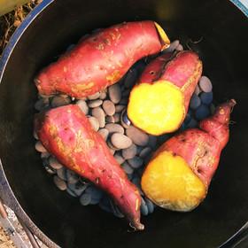 ダッチオーブン石焼き芋