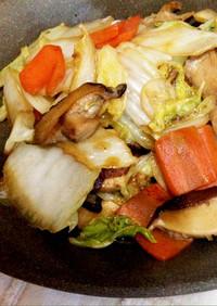 簡単♪美味しい♪白菜と人参の炒めもの