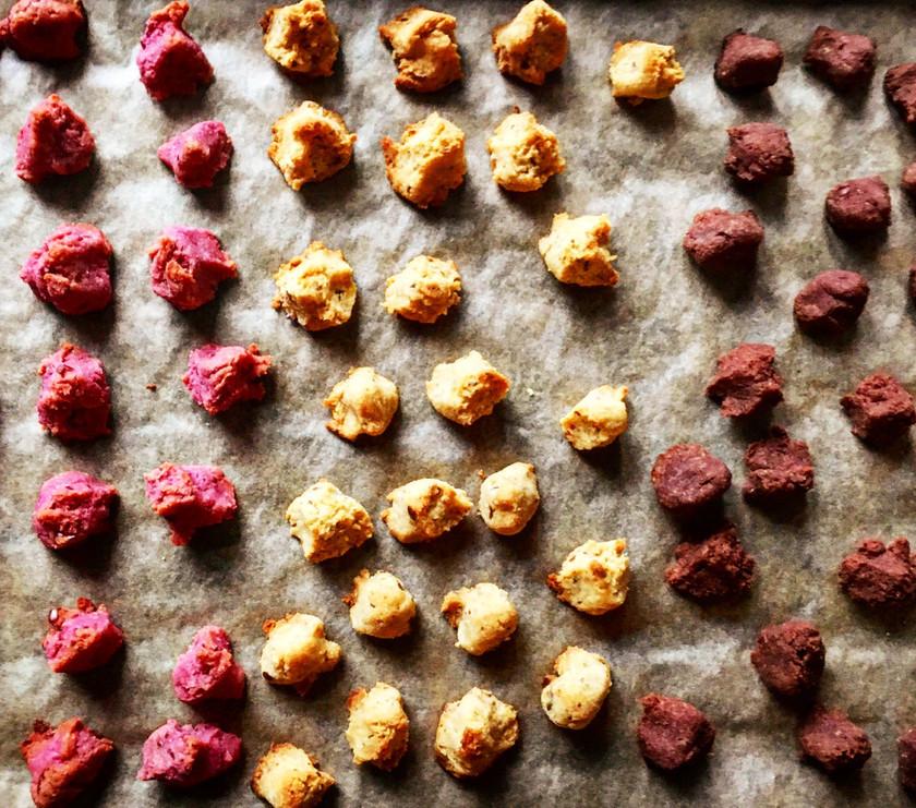 3色さつま芋クッキー 卵乳製品不使用