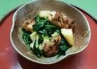 鶏モモと長芋のポパイソテー