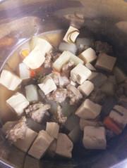 高野豆腐の煮物の写真