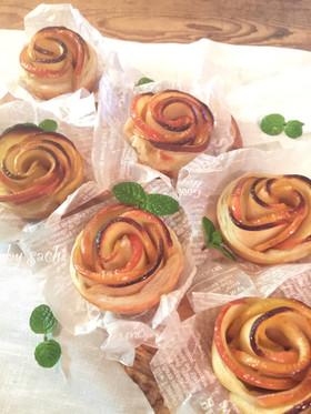 薔薇バラのアップルパイ♡