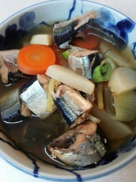 さんま塩煮(血管ダイエット食1022)