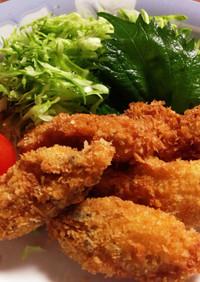 冷凍牡蠣 de カキフライ