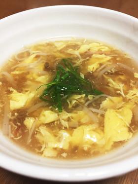 もやしカニカマ!あんがトロトロ中華スープ