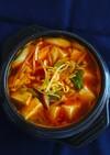 ★もやし豆腐チゲde体温まる콩나물찌개。