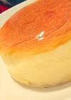 ダイソーの12㎝型でスフレチーズケーキ