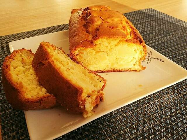 ホットケーキミックスでパウンドケーキ