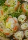 節約・ヘルシー☆野菜ミルフィーユ生姜鍋♪