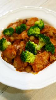 簡単✡鶏もも肉の✡既成トマトソース煮込みの写真