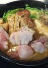 ぷりぷり♡アンコウの味噌キムチ鍋