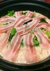 ☆ダシダで作る野菜たっぷりピリ辛豆乳鍋☆