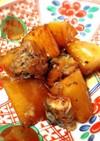 簡単♪鯖の水煮缶☆骨まで食べる鯖と大根煮
