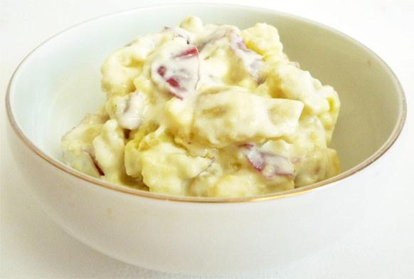 さつまいもの豆乳サラダ
