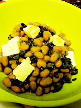 バジルチーズ納豆