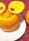 可愛いネーブルオレンジの切り方
