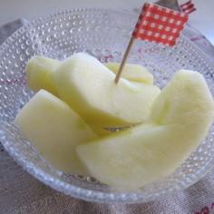 普通のリンゴが蜜入りリンゴに♪