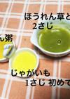 離乳食初期 野菜ペースト