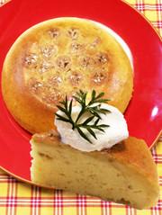 ♡炊飯器deふわもちバナナシフォン♡の写真