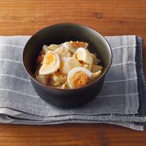 煮卵と里芋の和風サラダ