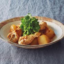 鶏と大根の花椒炒め