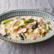 干し貝柱と白菜の中華風クリーム煮