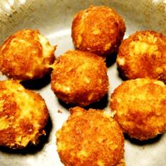 はんぺんとチーズの簡単コロコロフライ♪