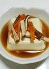 レンチン♪簡単♪湯豆腐風、温豆腐♪