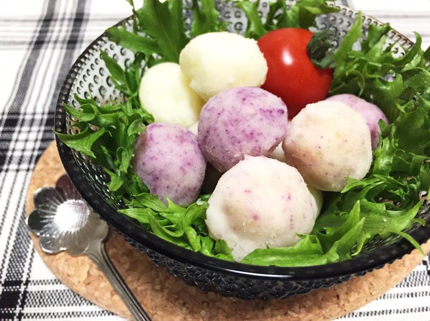 マヨ無し★野菜パウダーでポテトサラダ