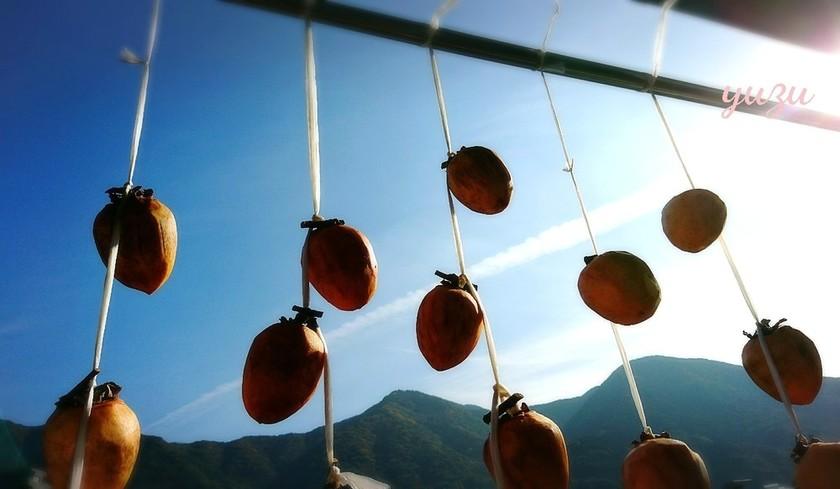 寒~い冬を楽しむ♪簡単干し柿の作り方!