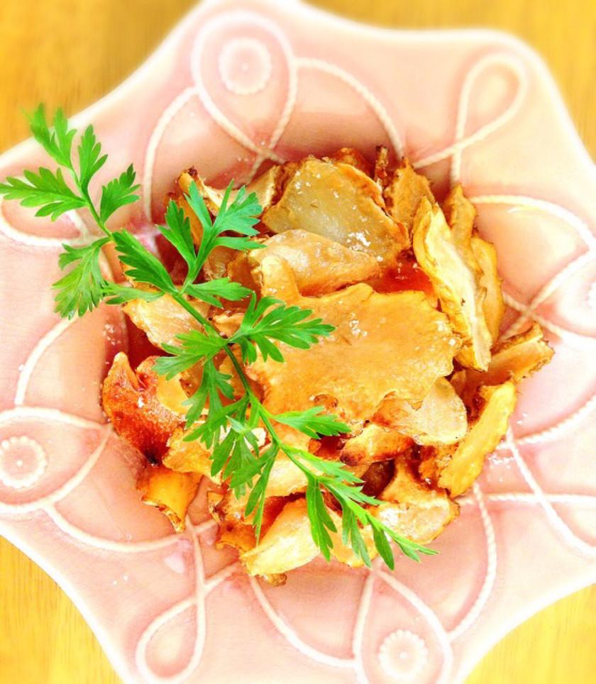低糖質☆ほんのり甘い菊芋チップス