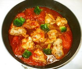 鶏もも肉の煮込み♪クリスマス夕食に♪簡単