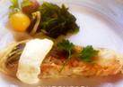 柚子胡椒マヨで鮭のパリパリポテトムニエル