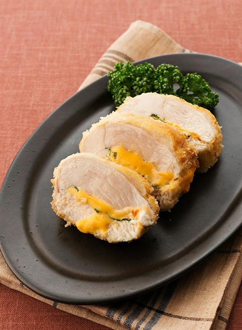 鶏むね肉の大葉チーズはさみ揚げ