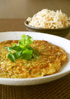 食物繊維豊富な切干大根の台湾風卵焼き